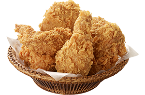 half-fried-chicken